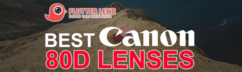 The Best Canon 80D Lenses in 2019 | Flutter Lens